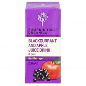 Organic Blackcurrant and Apple Juice