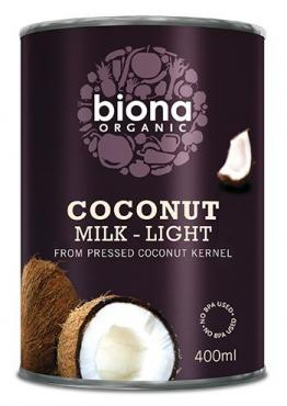 Organic Coconut Milk (Light 9% fat) - 400ml