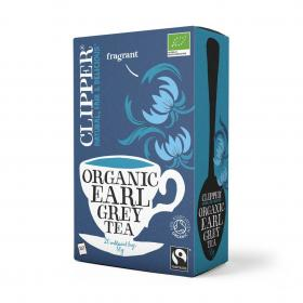 Fairtrade Organic Earl Grey Tea 20 bags