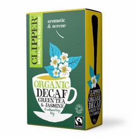 Organic Fairtrade Decaf Green Tea and Jasmine 20 bags