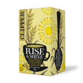 Organic Rise & Shine, Lemongrass and Yerba Mate Infusion 20 bags