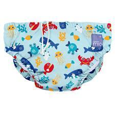 Reusable Swim Nappy Deep Sea Blue 6-12m