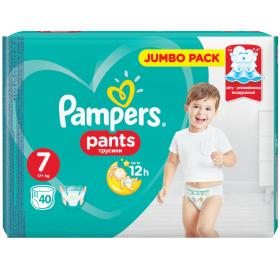PAMPERS PANTS No7 40PCS JUMBO