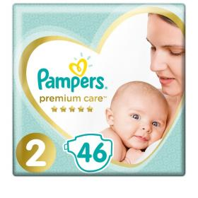 PAMPERS PREMIUM CARE No2 46PCS VP