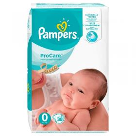 PAMPERS PROCARE No0  38PCS  VP