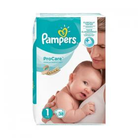 PAMPERS PROCARE No1 38PCS VP