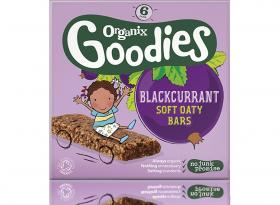 Blackcurrant Soft Oaty Bars 12 months+