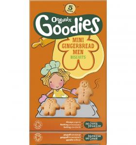Mini Gingerbread Men Biscuits 12 months+