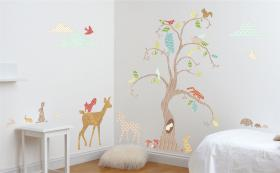Woodland Wonderland Wall Sticker