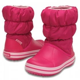 Winter Puff Boot Candy Pink