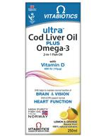 ULTRA 2 in 1 COD LIVER OIL Liquid
