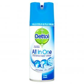 All in One Disinfectant Spray - Crisp Linen