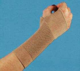 Elasticated wrist support