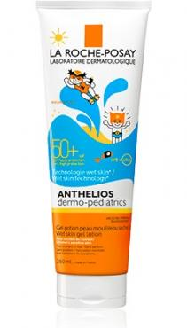 Anthelios Dermo-Pediatrics Wet Skin Gel Lotion SPF50+ Αντηλιακό για Παιδιά