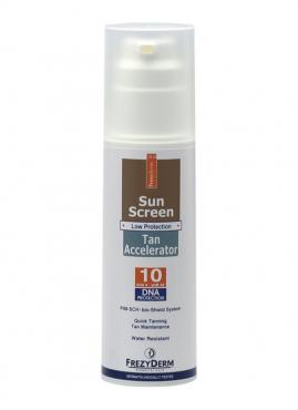 SUN SCREEN TAN ACCELERATOR SPF 10