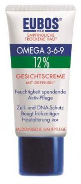 EUBOS OMEGA 3-6-9 12% FACE CREAM ΜE DEFENSIL® 50 ml