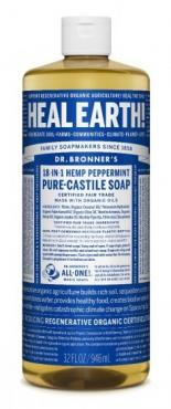 PURE-CASTILE LIQUID SOAP PEPPERMINT