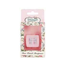 Duo Pencil Sharpener Pink